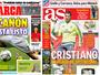 """""""O canhão está pronto"""": jornais de Madri comemoram otimismo de CR7"""