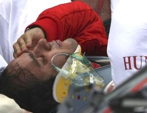 FRAME - Felipe massa acidente gp da hungria (Foto: Agência Reuters)