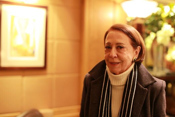 Ela é uma das artistas mais respeitadas do país, mas seu nome real é Arlette, viu? (Foto: Globo/Luiz C Ribeiro)
