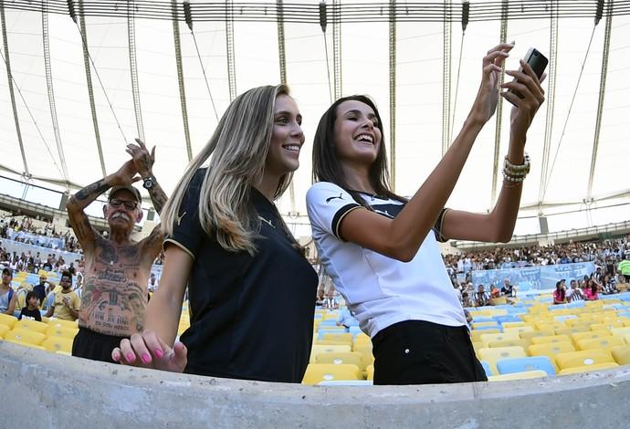 maracanã selfie flamengo x botafogo (Foto: André Durão)