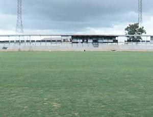 Estádio Fausto Alvim no fim da reforma (Foto: Reprodução/TV Integração)