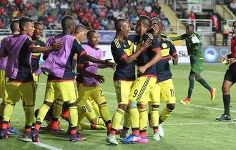 Colômbia vence de virada o Equador na estreia do Sul-Americano Sub-17