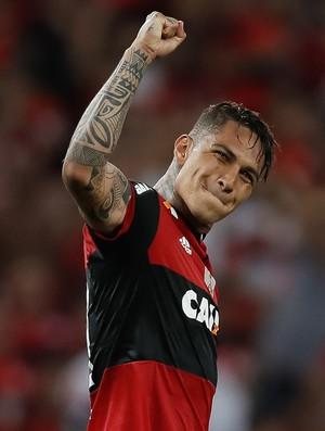 Guerrero Flamengo x Católica (Foto: AFP)