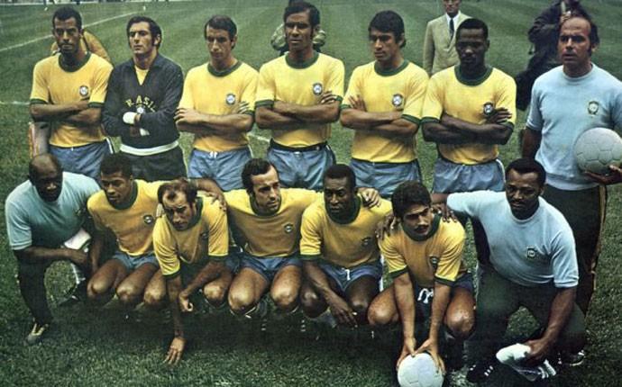 dd4a20b390 Copa do Mundo 1970 - Seleção Brasileira (Foto  Divulgação   Site CBF)