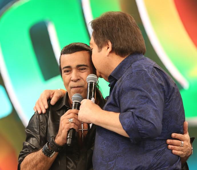 """Elymar Santos agradece Faustão: """"Você me ajudou.""""  (Foto: Carol Caminha/Gshow)"""
