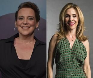 Ana Beatriz Nogueira e Deborah Evelyn   Mauricio Fidalgo e Estevam Avellar/TV Globo