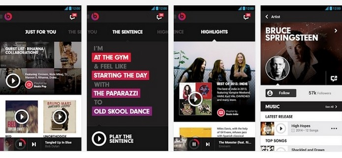 Novo Beats Music será o primeiro app para Android desenvolvido pela Apple (Foto: Reprodução/Play Store)