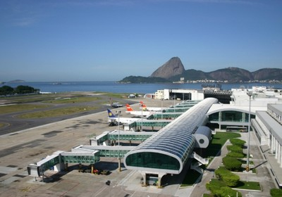 Aeroporto Santos Dumont, no Rio de Janeiro (Foto: Divulgação/Infraero)