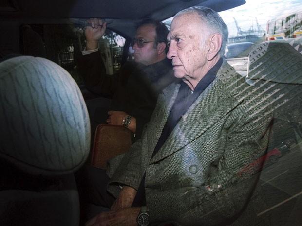 Jose Alfredo Martinez de Hoz vivia em prisão domiciliar (Foto: Enrique Garcia Medina /Reuters)