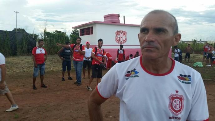 Cícero Gomes, técnico do Guajará (Foto: Dayanne Saldanha)