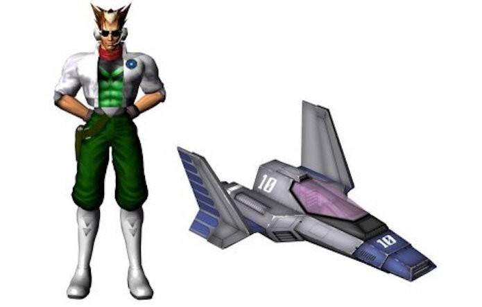 F-Zero e Star Fox possuem diversas conexões como o corredor James McCloud (Foto: Reprodução/Nintendojo)