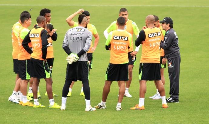 Figueirense apresenta (Foto: Luiz Henrique/FFC)