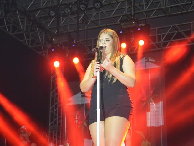 Marília Mendonça se apresentam em Porto Velho, RO (Foto: Mary Porfiro/G1)