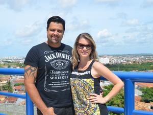 Banda Forró dos Vips vai gravar DVD no Forró Caju (Foto: Emerson Emídio / G1)