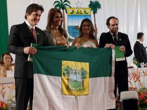 Robinson Faria (PSD) e Fábio Dantas (PC do B) tomam posse como governador e vice-governador do Rio Grande do Norte (Foto: Gabriela Freire/G1)