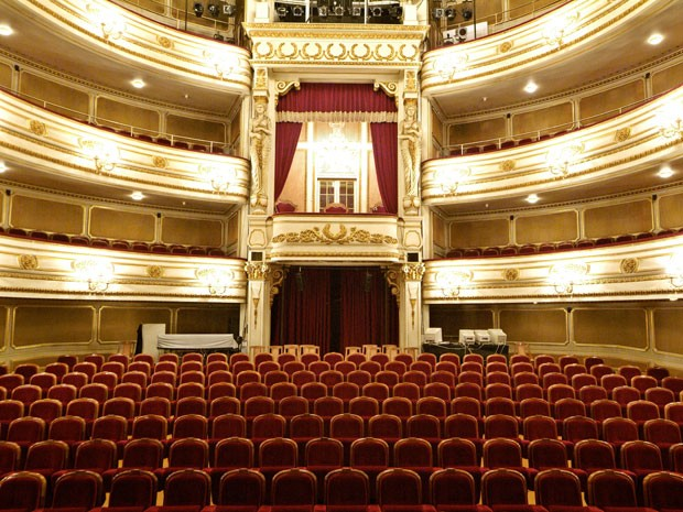 Teatro Maria Luísa, em Lisboa (Foto: Arquivo Pessoal)