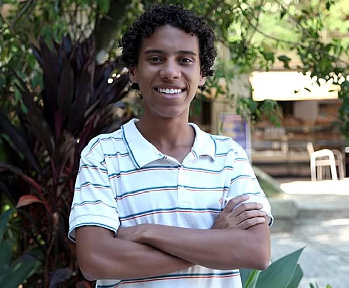 Cadu Paschoal é Riscado, amigo de Jonatas (Foto: Gshow)