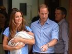 Kate Middleton usa vestido de Jenny Packham para deixar maternidade