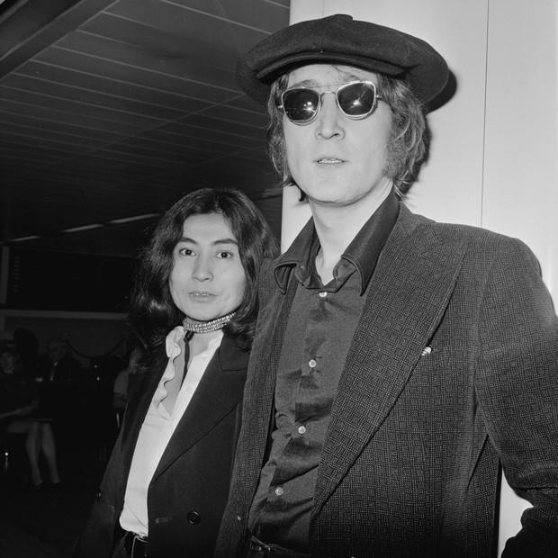 John Lennon e Yoko Ono em 1971 (Foto: Getty Images)