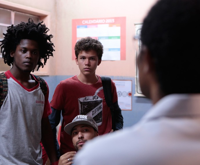 Beto e Artur não esperavam a atitude do diretor (Foto: Felipe Monteiro/Gshow)