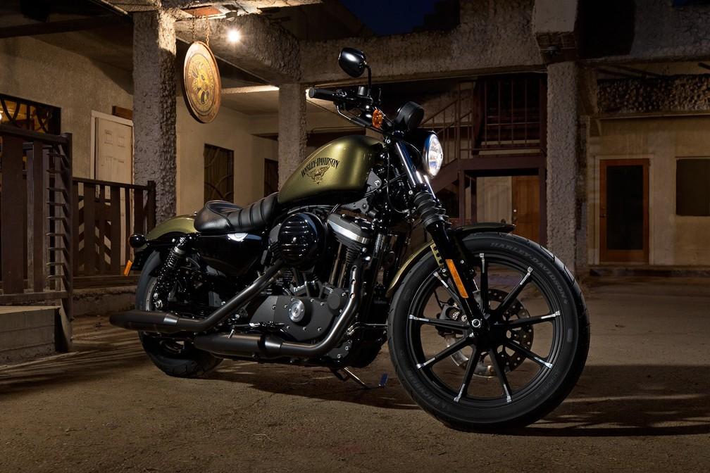 Harley-Davidson Iron 883 (Foto: Divulgação)