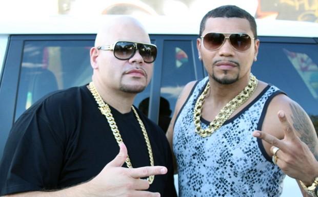 Naldo Benny e Fat Joe (Foto: Divulgao)