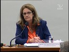 Foster diz que sente vergonha das denúncias de corrupção na Petrobras