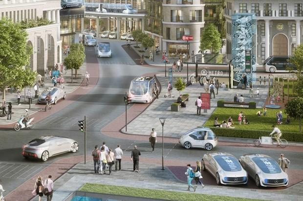 Parceria Bosch e Daimler para carros autônomos (Foto: Divulgação)