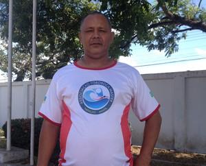 Nadilson Costa presidente da Associação Pororoca Master de Natação (Foto: Karol Aood/GE-AP)