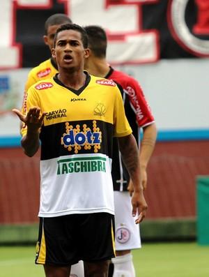 Edigar Junio e Eduardo Joinville x Criciúma (Foto: Assessoria/Joinville EC)