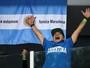Com título na Copa Davis, Maradona escapa da fama de pé-frio no tênis