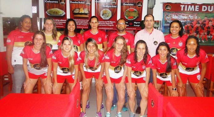 Time do Vila Nova vem forte para o Capixabão Feminino (Foto: Divulgação/Vila Nova FC)