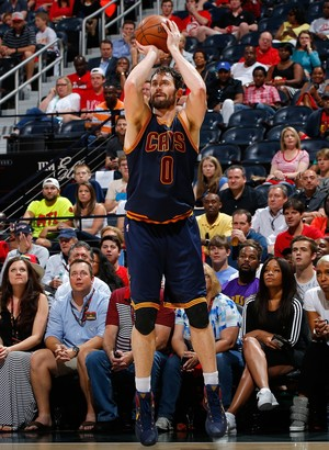 Atlanta Hawks x Cleveland Cavaliers  - Jogo 4 - Kevin Love (Foto: Kevin C. Cox / Getty Images)