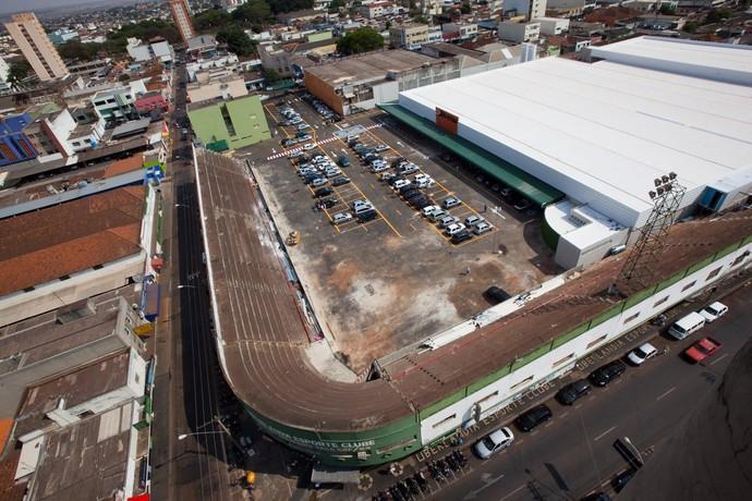Estádio Juca Ribeiro em Uberlândia (Foto: Beto Oliveira/Jornal Correio de Uberlândia)