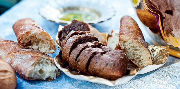 Pão de nozes (Foto: Ricardo Corrêa/Casa e Comida)