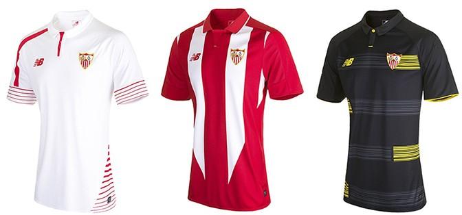 Camisas espanhol Sevilla
