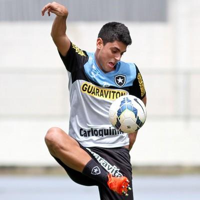 Matheus, Botafogo (Foto: Vitor Silva / SSPress)