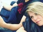 Susana Werner supera luto de mãe para torcer pelo marido em final