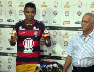DAVID BRAZ (Foto: Eric Luis Carvalho/Globoesporte.com)