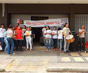 Bancários no Maranhão querem reajuste de 35% (Foto: Seeb-MA)