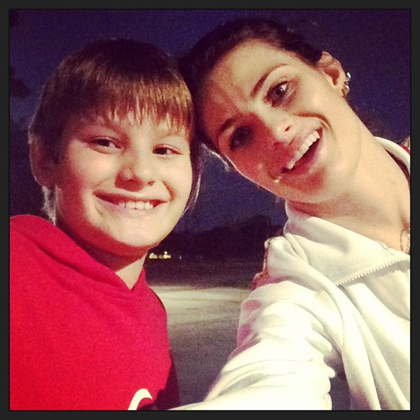Zion e Isabelli Fontana (Foto: Reproduo/Instagram)