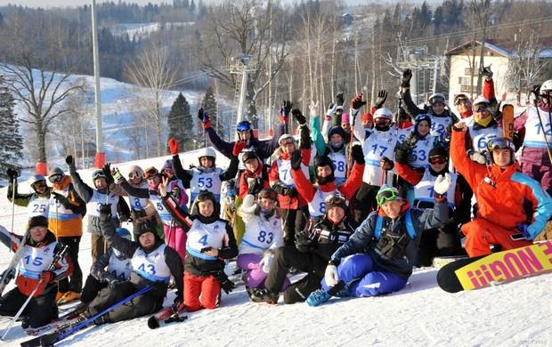 sochi 2014 voluntários esqui (Foto: Sochi2014.com)