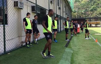 Com Airton recuperado, Botafogo se reapresenta após dois dias de folga