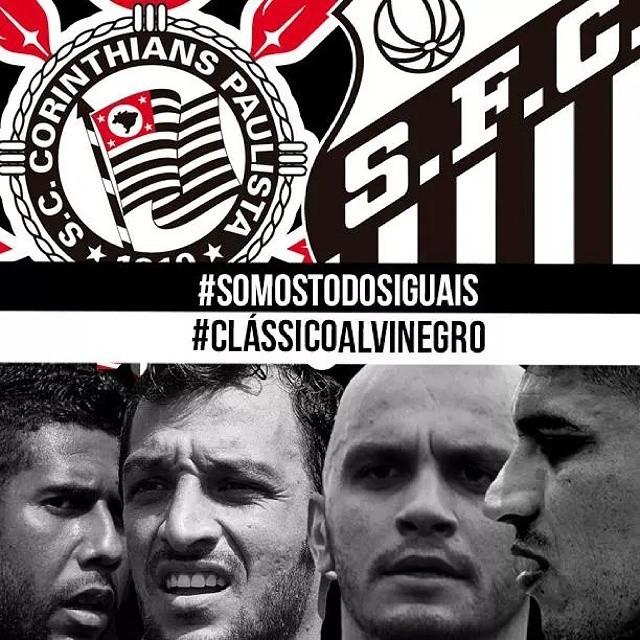 Santos Corinthians paz
