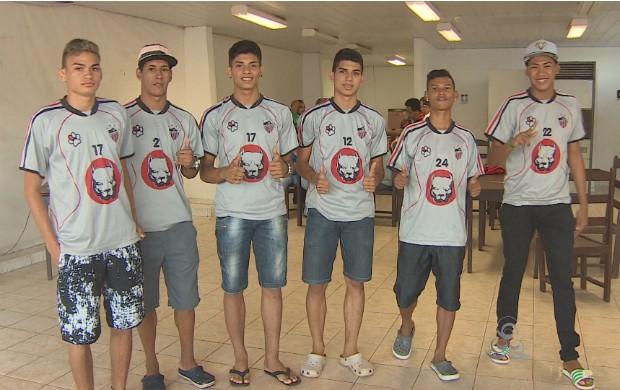 Jogadores do São José, do Amapá, irão disputar Copa em São Paulo. (Foto: Bom Dia Amazônia)