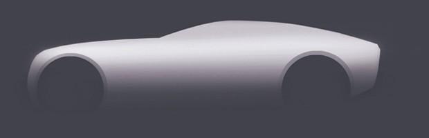 Desenho explica a carroceria de um cupê (Foto: Fernando Morita/Autoesporte)