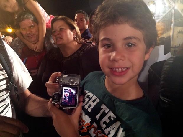 Selfies Festival de Cinema de Gramado (Foto: Paula Menezes/G1)
