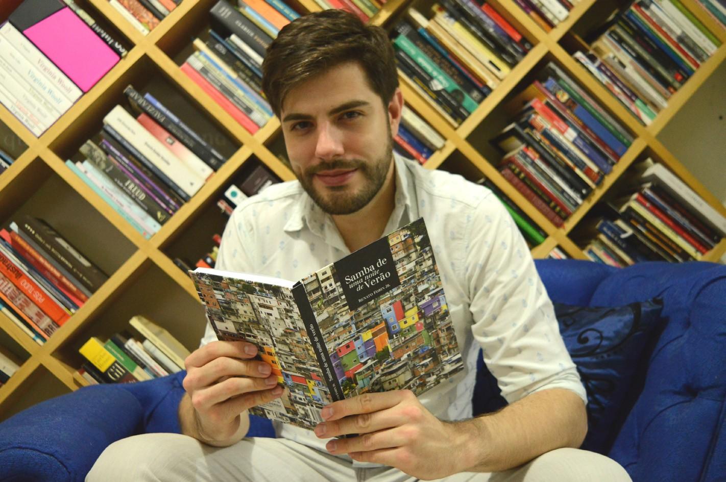 Renato Forin lança livro-CD teatral misturado com samba