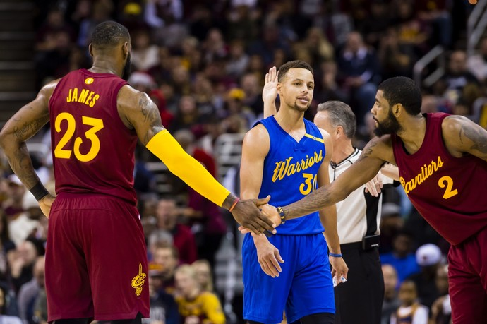 Warriors x Cavs Natal (Foto: Getty Images)