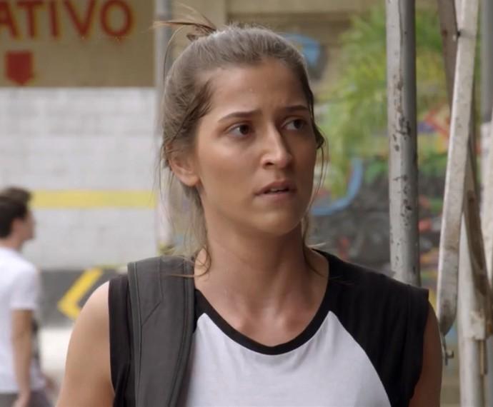 O que Nat vai dizer pra Duca? (Foto: TV Globo)